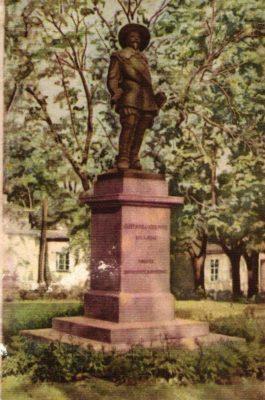 Gustav Adolf II monument Tartus. Foto: Tiit Pruuli kollektsioon.