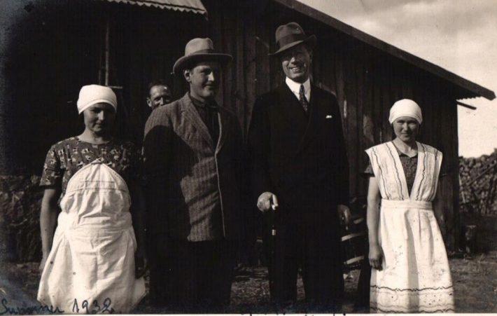 Gustav Adolf Vana-Kuustes. Foto: Tiit Pruuli kollektsioon.