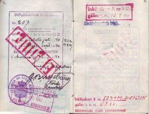 August Rei passi väljavõte. Foto: välisministeerium.