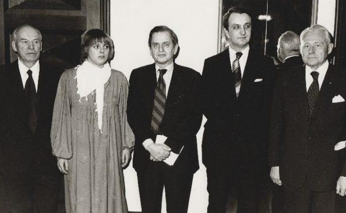 Olof Palme Eesti Vabariigi aastapäeval. Foto: Rahvusarhiiv.
