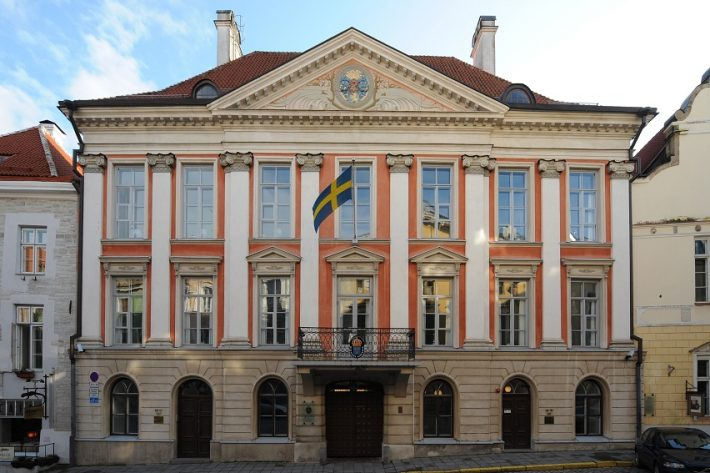 Rootsi saatkond Tallinnas. Foto: Erik Peinar.