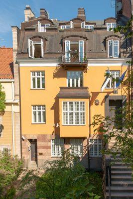 Eesti saatkond Stockholmis. Foto: Jaak T. Arendi.