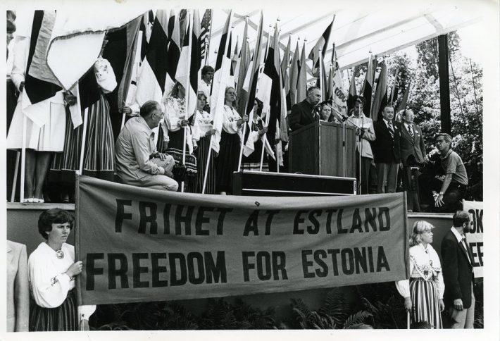 ESTO 80 i Stockholm. Foto: Sverigeesternas arkivet.