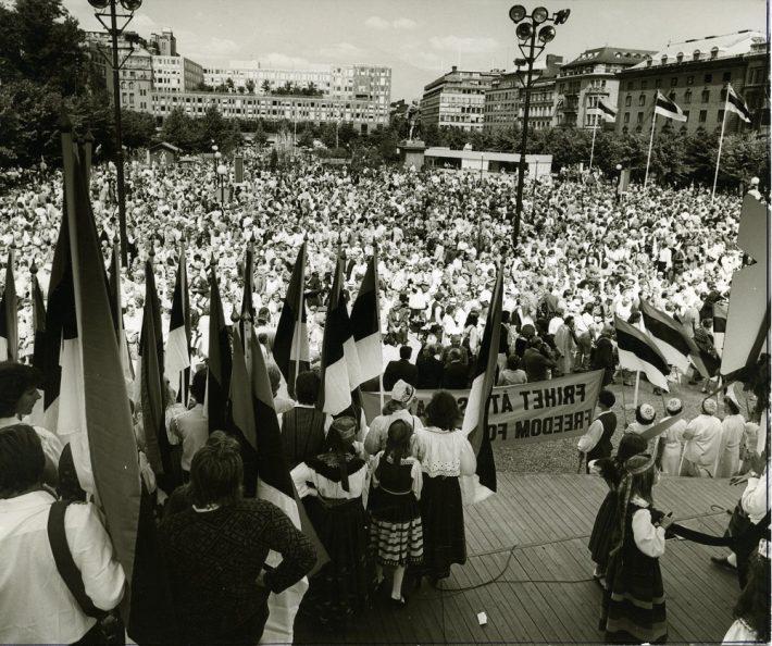 ESTO 80 Stockholmis. Foto: Rootsi Eestlaste Liidu arhiiv.
