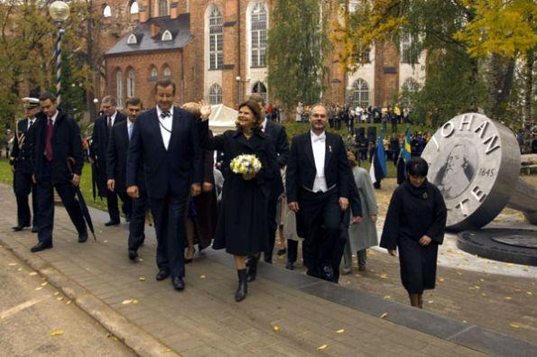 Drottning Silvia i Tartu. Foto: Erik Peinar.