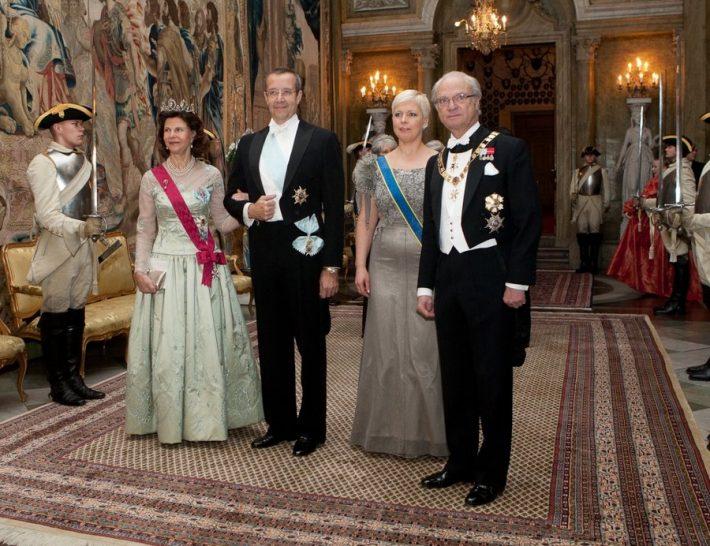 Estlands president Toomas Hendrik Ilves på statsbesök i Sverige. Foto: Estlands Presidents kansli.