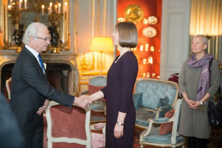 Estlands president Kersti Kaljulaid på arbetsbesök i Sverige. Foto: Jaak T. Arendi.