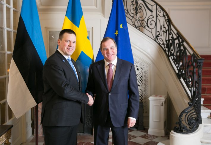 Statsministermöte. Foto: Estlands Regeringskansliet.