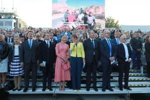 Kronprinsessan på konserten. Foto: Priit Mürk, ERR.