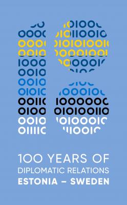 Eesti-Rootsi diplomaatiliste suhete 100. aastapäeva logo. Foto: välisministeerium.